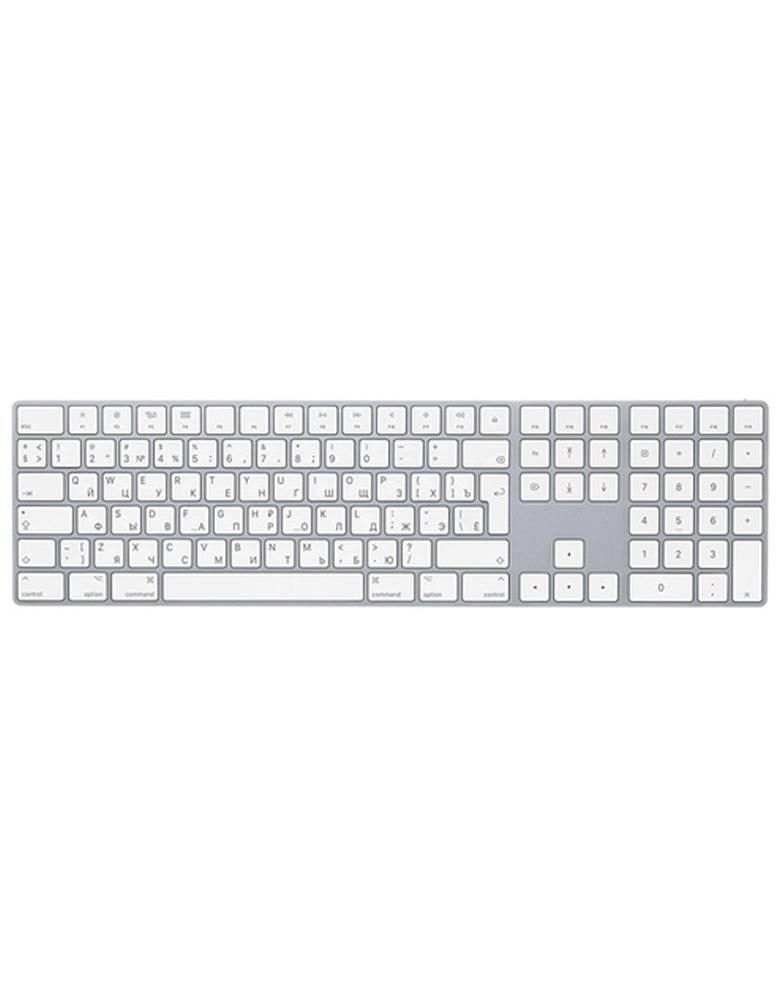Клавиатура Apple Magic Keyboard with Numeric Keypad (MQ052RS/A) Silver Bluetooth