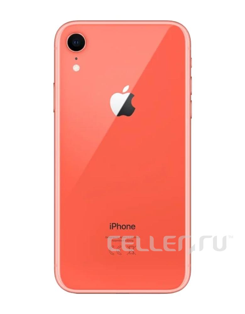 Смартфон Apple iPhone Xr 128GB Коралл