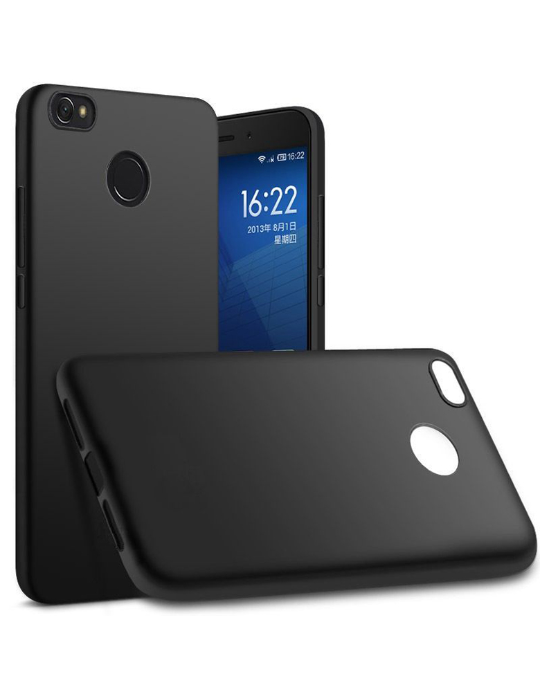 Чехол Xiaomi 4X пластик Soft touch Black