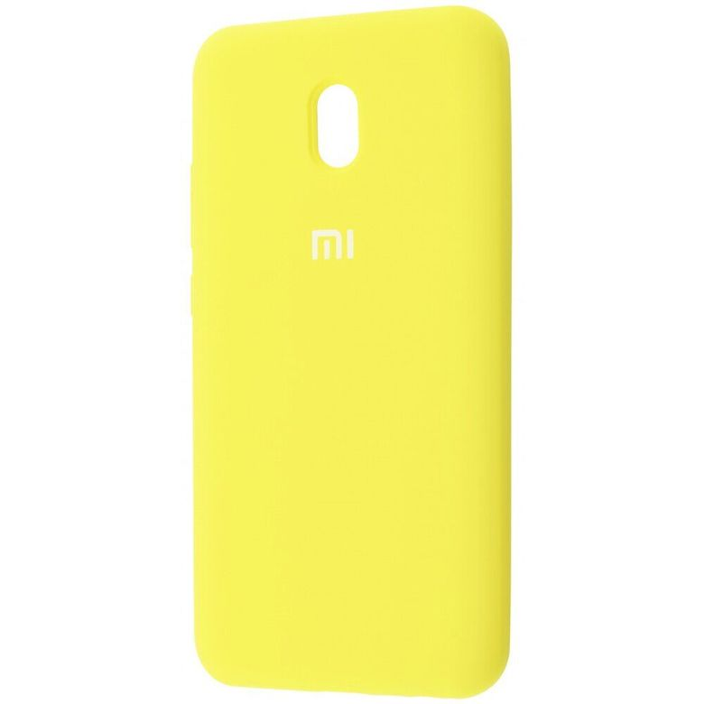 Чехол-бампер Xiaomi Silicone Cover для Xiaomi Redmi 7A Yellow