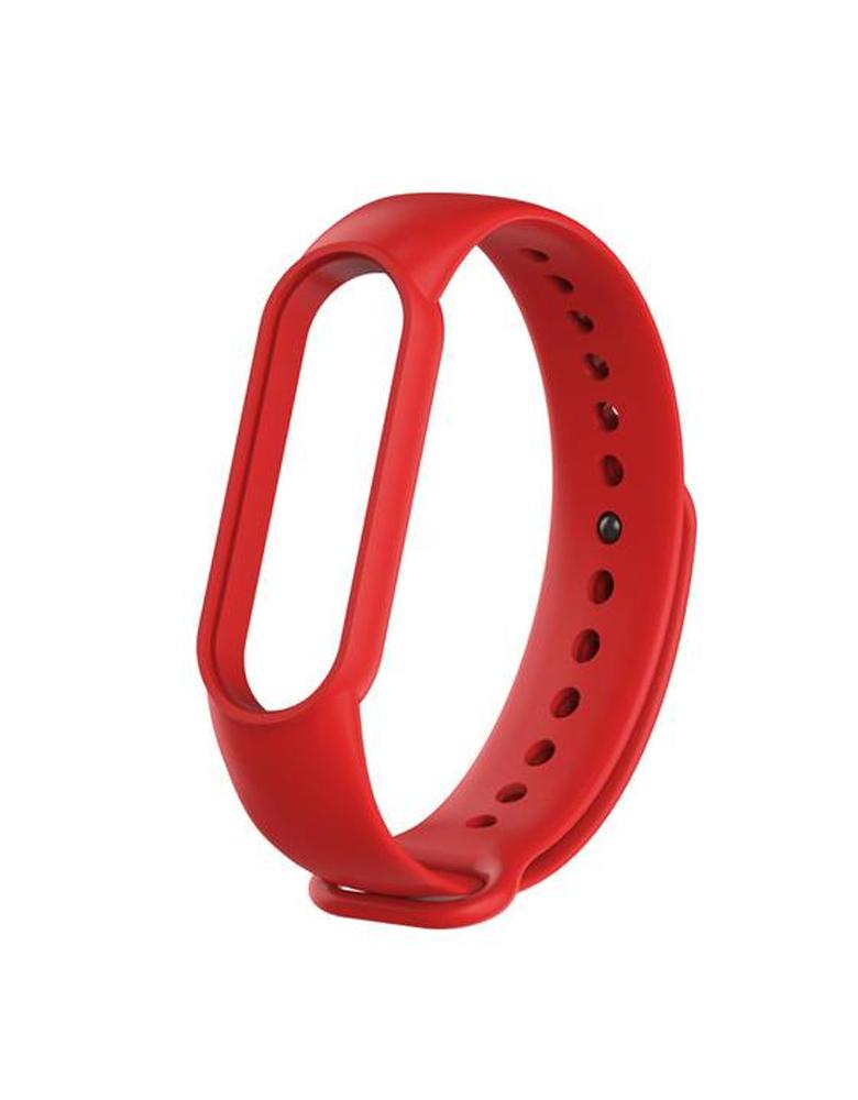 Ремешок для Xiaomi Mi Band 5 красный