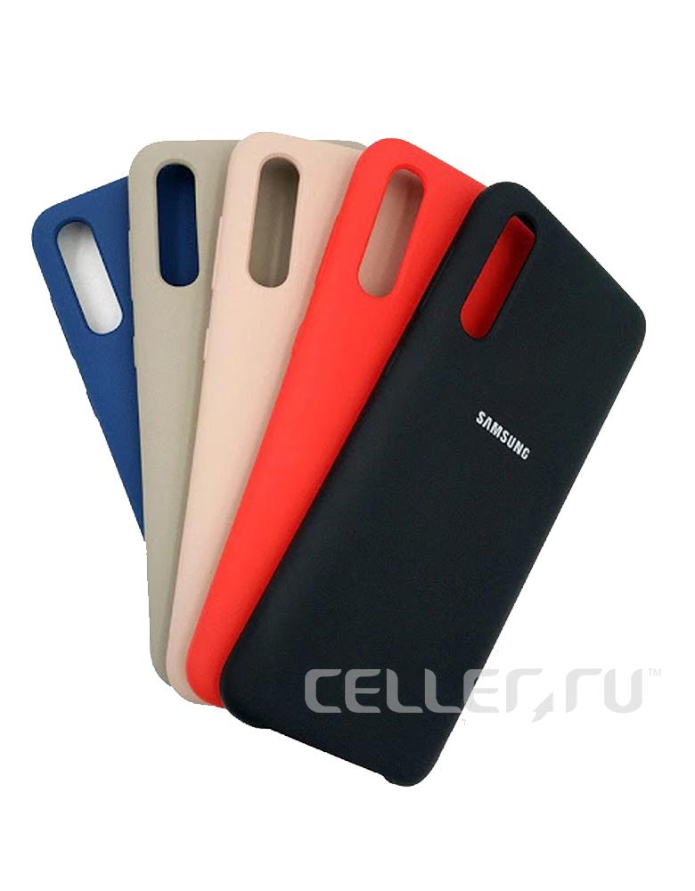 Чехол-накладка для Samsung Galaxy A50 / A30s Silicone Cover