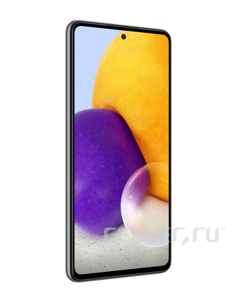Смартфон Samsung Galaxy A72 6/128GB Черный