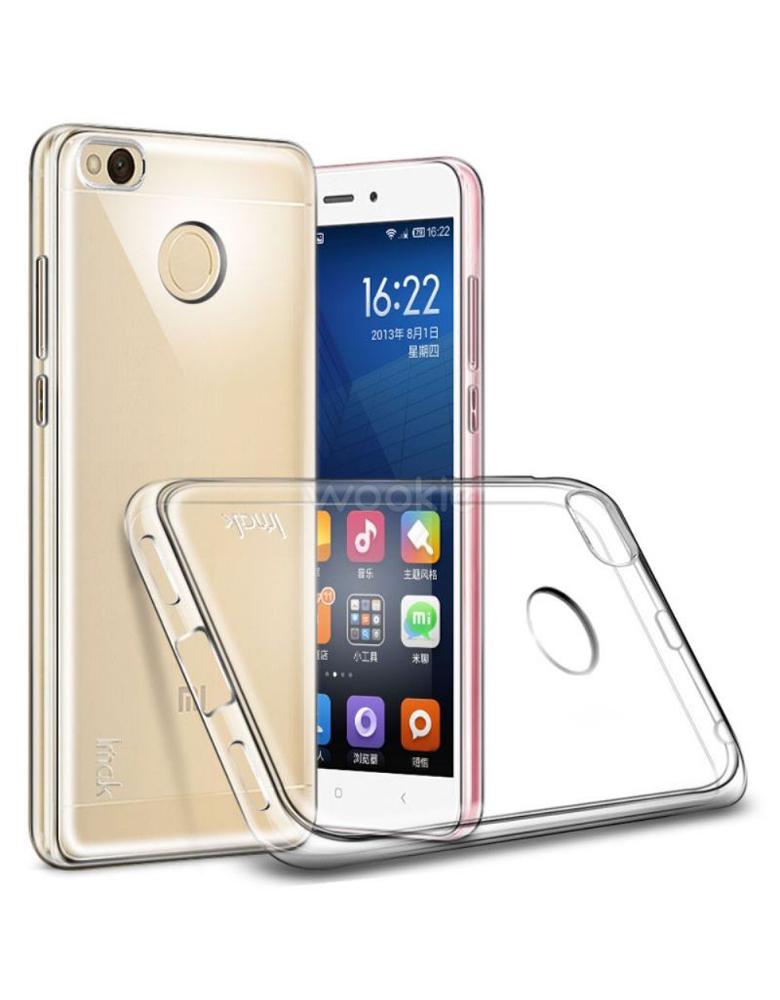 Чехол Xiaomi Redmi 4x Прозрачный Силиконовый