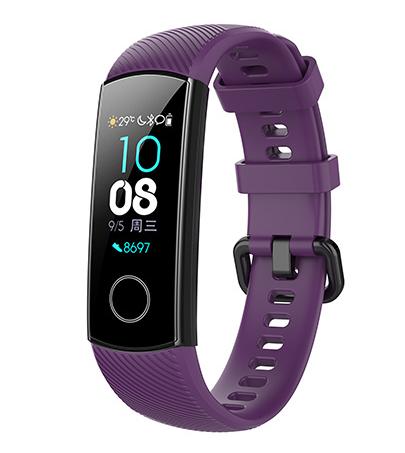 Ремешок для фитнес браслета Honor Band 4/5 фиолетовый