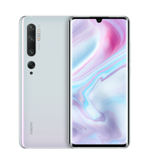 Смартфон Xiaomi Mi Note 10 Pro 8/256GB Glacier White