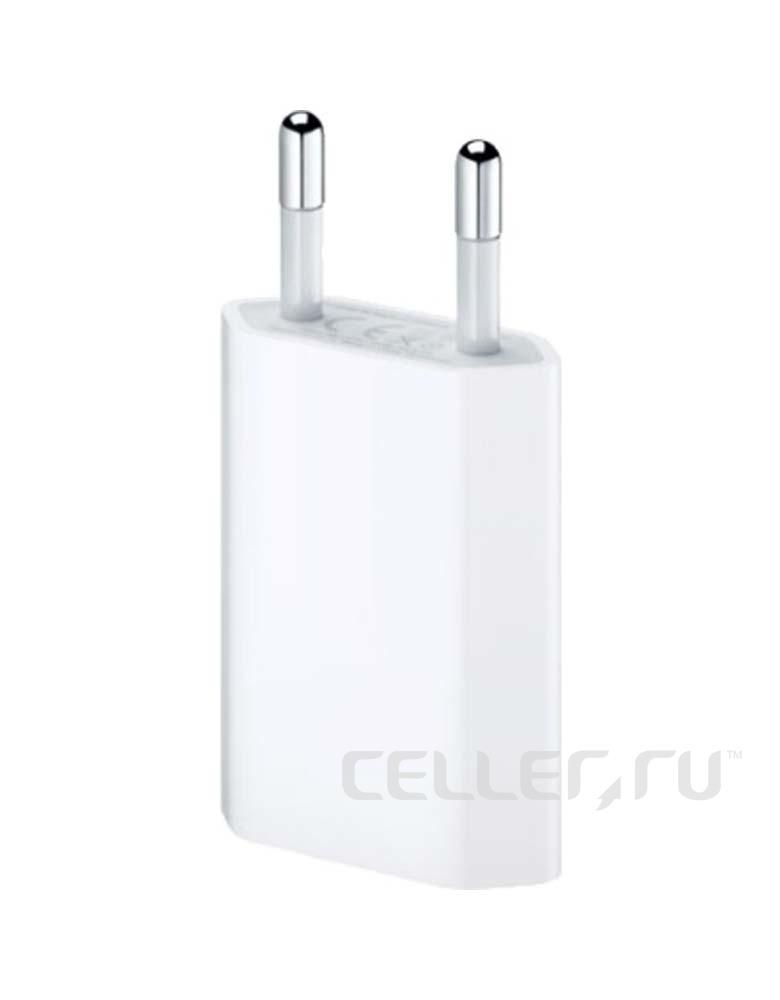 АДАПТЕР ПИТАНИЯ/СЗУ USB ДЛЯ APPLE IPHONE ОРИГИНАЛ