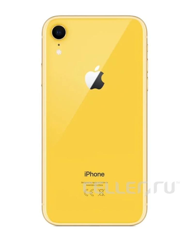 Смартфон Apple iPhone Xr 128GB Желтый